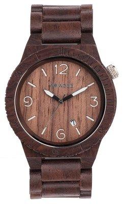 WeWOOD Alpha Chocolate horloge