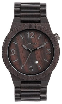 WeWOOD Alpha Black horloge