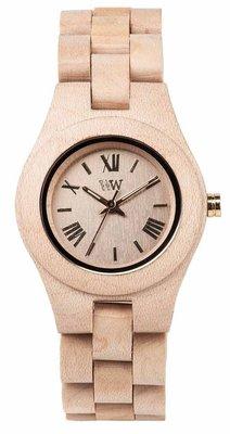WeWOOD Criss Beige horloge
