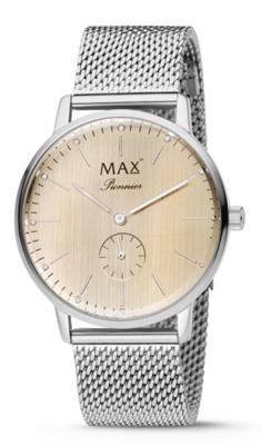 MAX Pionnier Silver horloge