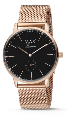 MAX Pionnier Rosé/black horloge