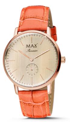 MAX Pionnier Orange horloge