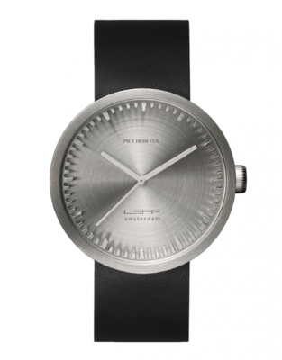LEFF Amsterdam Tube Steel/Black horloge