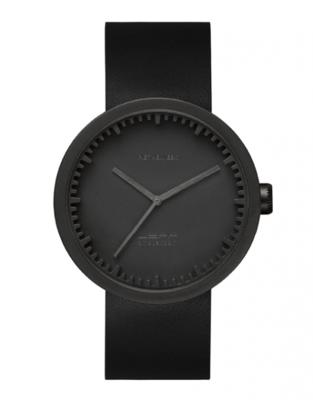 LEFF Amsterdam Tube Black/Black horloge