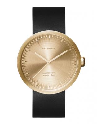 LEFF Amsterdam Tube Gold/Black horloge