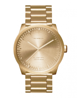LEFF Amsterdam Tube Gold horloge
