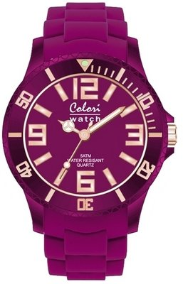 Colori Watch Classic Chic Aubergine