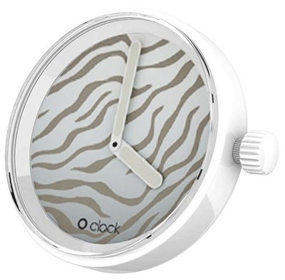 O clock klokje Safari Tiger White