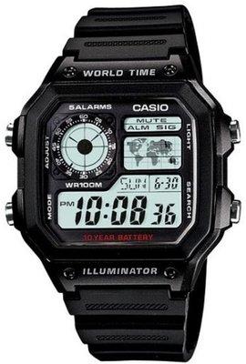 Casio AE-1200WH-1AVEF horloge