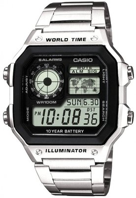 Casio AE-1200WHD-1AVDF horloge