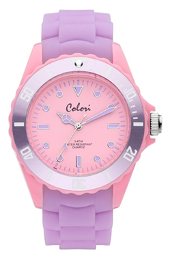 Colori Watch Colour Combo Pink Light Purple horloge