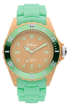 Colori Watch Colour Combo Camel Mint horloge