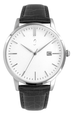 Colori Watch Connaisseur White Black Silver horloge