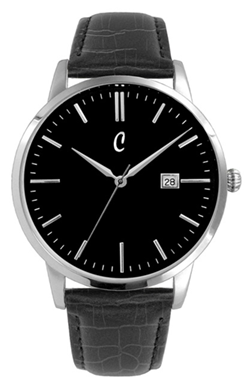 Colori Watch Connaisseur Black Black Silver horloge