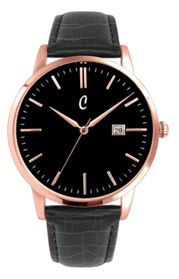 Colori Watch Connaisseur Black Black Gold horloge