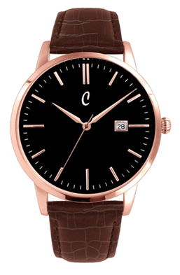 Colori Watch Connaisseur Black Brown Gold horloge