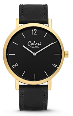 Colori Watch Phantom Black Gold horloge