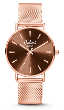 Colori Watch XOXO Rosé horloge