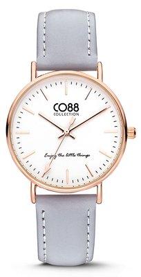 CO88 Leather Grey horloge