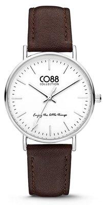 CO88 Leather Dark Brown horloge