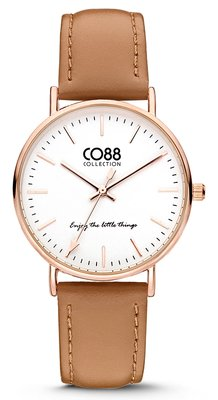 CO88 Leather Brown horloge