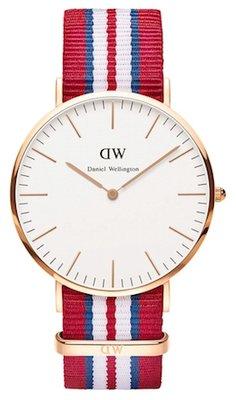 Daniel Wellington Classic Exeter Gold 40 mm horloge