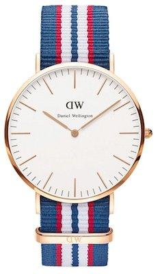 Daniel Wellington Classic Belfast Gold 40 mm horloge