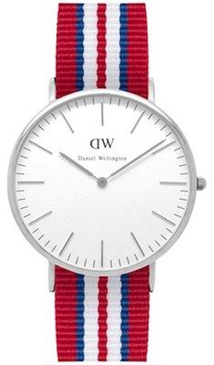Daniel Wellington Classic Exeter Silver 40 mm horloge