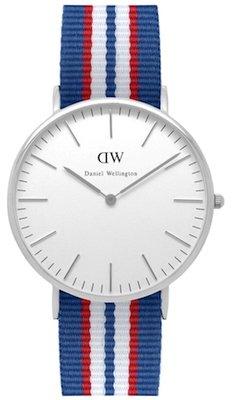 Daniel Wellington Classic Belfast Silver 40 mm horloge