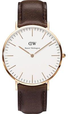 Daniel Wellington Classic Bristol Gold 40 mm horloge