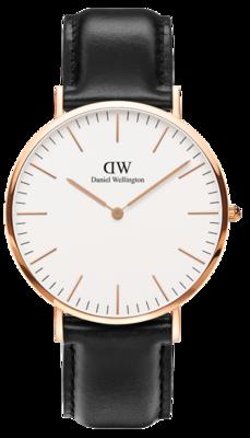 Daniel Wellington Classic Sheffield Gold 40 mm horloge