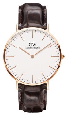 Daniel Wellington Classic York Gold 40 mm horloge