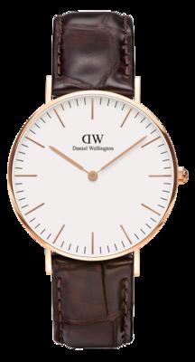 Daniel Wellington Classic York Gold 36 mm horloge