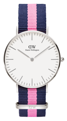 Daniel Wellington Classic Winchester Silver 36 mm horloge