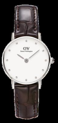 Daniel Wellington Classy York Silver 26 mm horloge