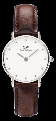 Daniel Wellington Classy Bristol Silver 26 mm horloge