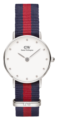 Daniel Wellington Classy Oxford Silver 26 mm horloge