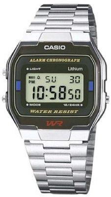 Casio A163WA-1QES horloge