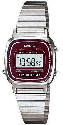 Casio LA-670WA-4 horloge