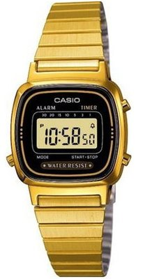 Casio LA-670WG-1 horloge