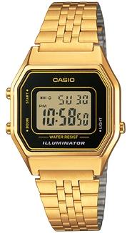 Casio LA-680WG-1 horloge