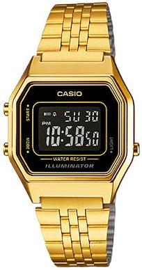 Casio LA-680WG-1B horloge