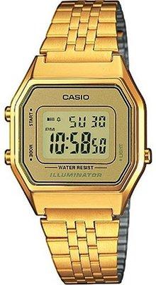 Casio LA-680WG-9 horloge