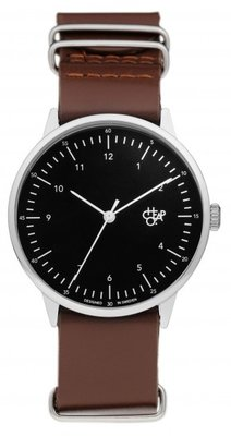 CHPO Harold Dark brown black horloge