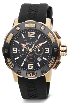 MAX Limitless Black/Gold horloge