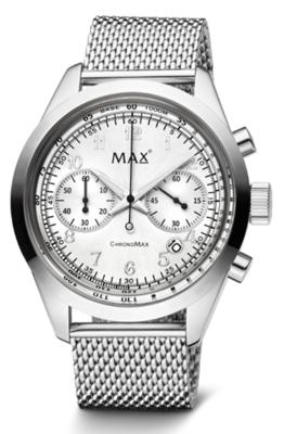 MAX ChronoMax Silver horloge