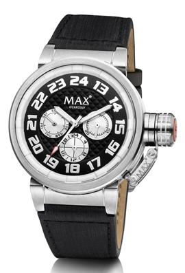 MAX Guardian Black Silver horloge