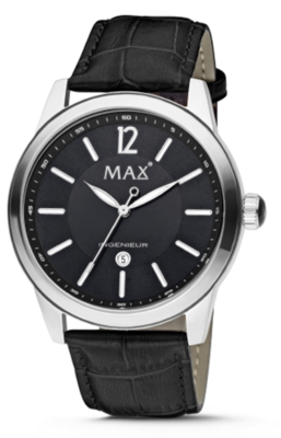 MAX Ingenieur Black horloge