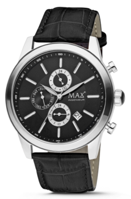 MAX Ingenieur Chrono Black horloge