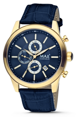 MAX Ingenieur Chrono Blue horloge